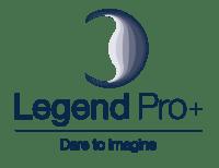 Legend pro+ blue font